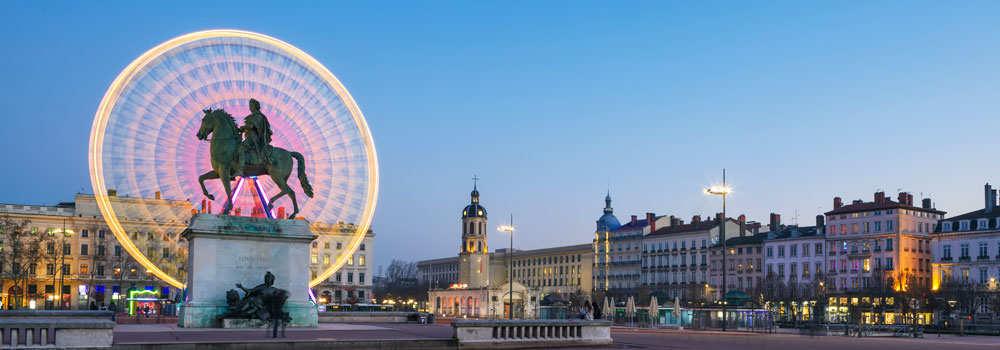 place bellecour grande roue lyon